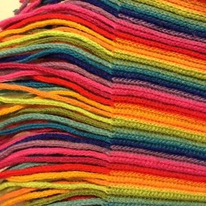 🌈🌈🌈🌈Large rainbow scarf🌈🌈🌈🌈🌈