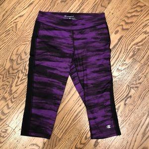 Champion knee-high workout pants