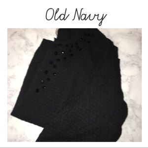 Black Old Navy Maternity Cardigan