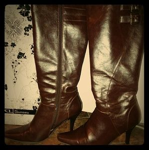 Brown Knee High Boots 👢👢👢👢❤