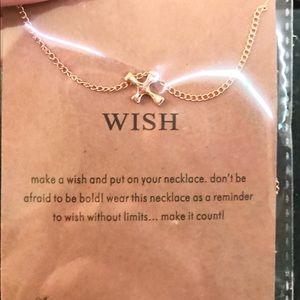 """Wish"" Charm Necklace"