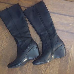 Cole Haan calf length boots
