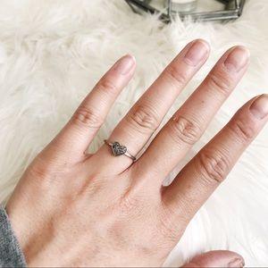 Chan Luu Diamond Heart Ring