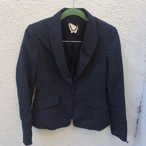 3.1 Phillip Lim Navy Pinstripe Blazer Jacket