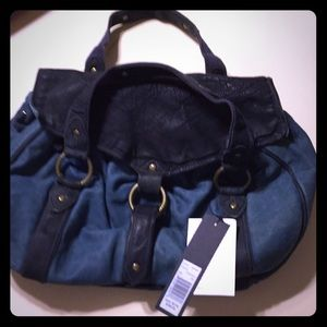 Marc Jacobs bag NWT gorgeous blue leather!