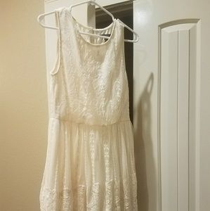 Cute dress with lace