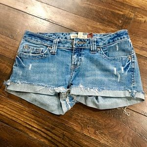 Ripped Jean short