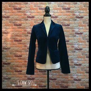 J. Crew Velvet Ecole Jacket