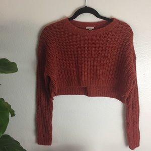 Súper cropped Ecote knit