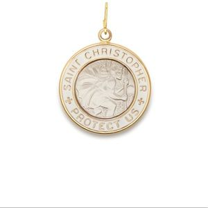 Alex & Ani Saint pendant expandable necklace