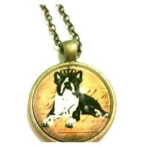 Boston Terrier Necklace with Free Gift Box