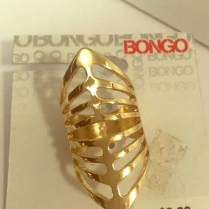 BONGO Gold Plated Ring
