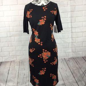 LuLaRoe Julia Dress Large