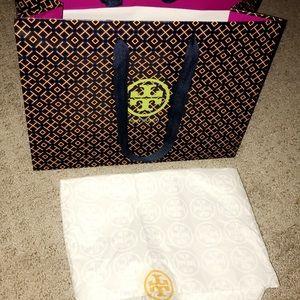 Tory Burch Medium Size shopping bag gift bag