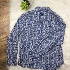 Pendelton Sz 16 silk blouse nwot