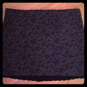 Jessica Simpson cheetah skirt lined and lace!