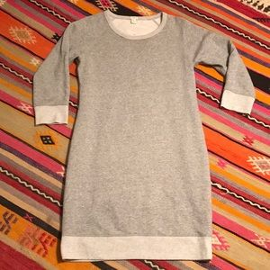 J.Crew Cozy Sweatshirt Dress Small
