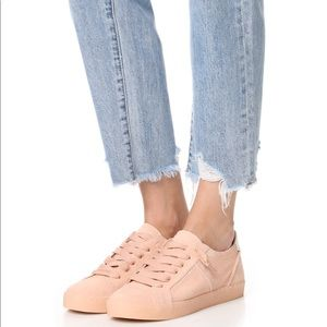 Dolce Vita Blush Suede Sneakers