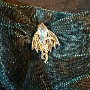 Dragon crystal pendant