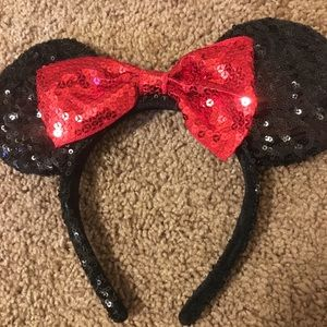 Sequin Minnie Ears