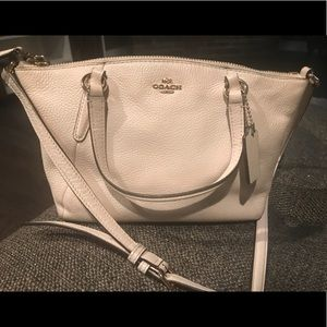Coach Pebble Leather Mini Kelsey Crossbody Purse