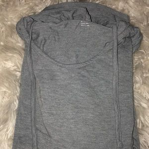 Old navy long sleeve hooded workout shirt