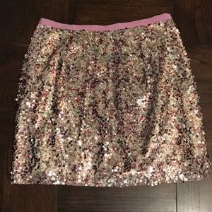 J.Crew Collection Sequin Skirt 6