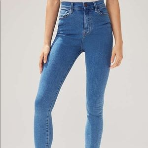urban outfitters BDG super high rise skinny jeans