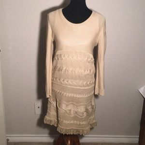 Sweater dress great condition