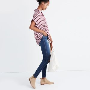 Madewell. Central Shirt. Gingham Check.
