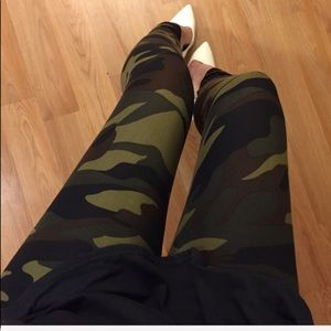 Pants - Supersoft Brushed Camo Leggings