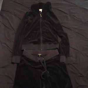 Black Juicy Couture Track Suit