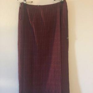 Balinese pattern wrap skirt