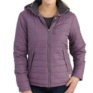 Carhartt Womens Quilted Flannel Lined Jacket