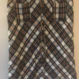 Plaid cotton Ralph Lauren skirt