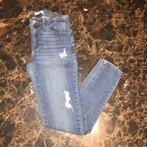 Denim - Mid Rise Super Skinny Jean