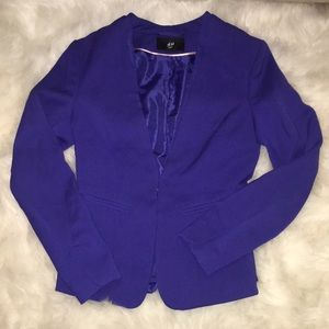 Royal blue h&m blazer