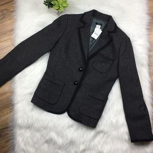 J Crew Sz 6 wool blazer