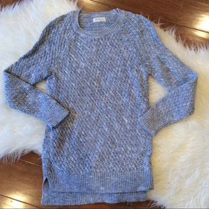 Lou & Grey Blue and White Sweater