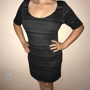Dresses & Skirts - Grey and black dress