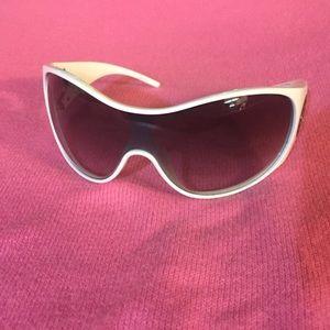 ed147db85a8 Giorgio Armani Accessories - Giorgio Armani Sunglasses White Shields