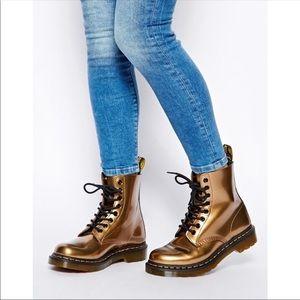 Dr. Martens Pascal Copper Spectra Boots Size 7