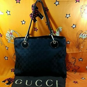 Authentic Gucci GG Monogram Satchel