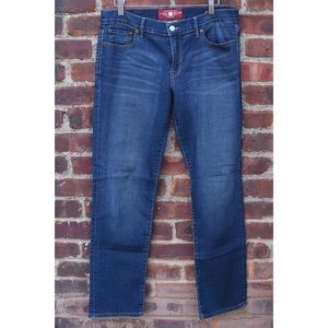 Lucky Brand Sweet'N Striaght Ankle Dark Jeans