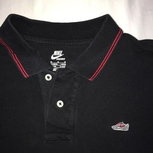 Vintage Nike Air Force 1 Polo Shirt
