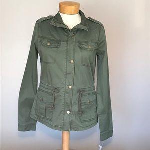Nwt Mudd olive utility jacket. Size medium