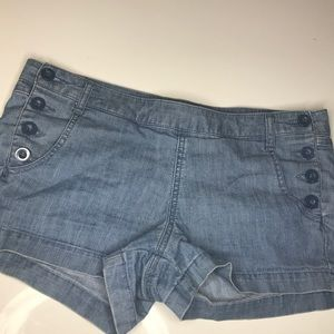 Forever 21 button shorts