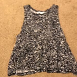 patterned h&m tank