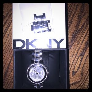 DKNY Womans silver watch