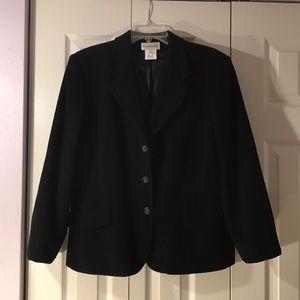 Chadwick's Wool Black Blazer